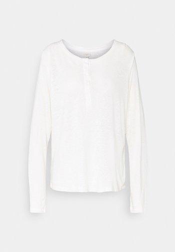 CRKARY GRANDDAD - Camiseta de manga larga - snow white