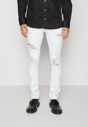 PANTS 5 POCKETS - Jeans Skinny Fit - optical white