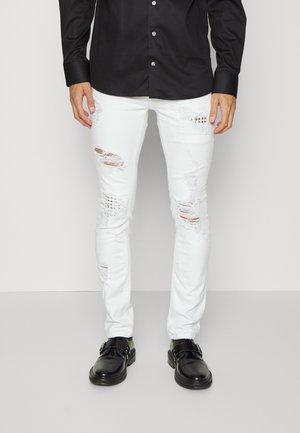 PANTS 5 POCKETS - Skinny džíny - optical white