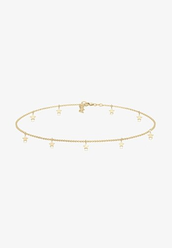 CHOKER STAR - Necklace - gold-coloured
