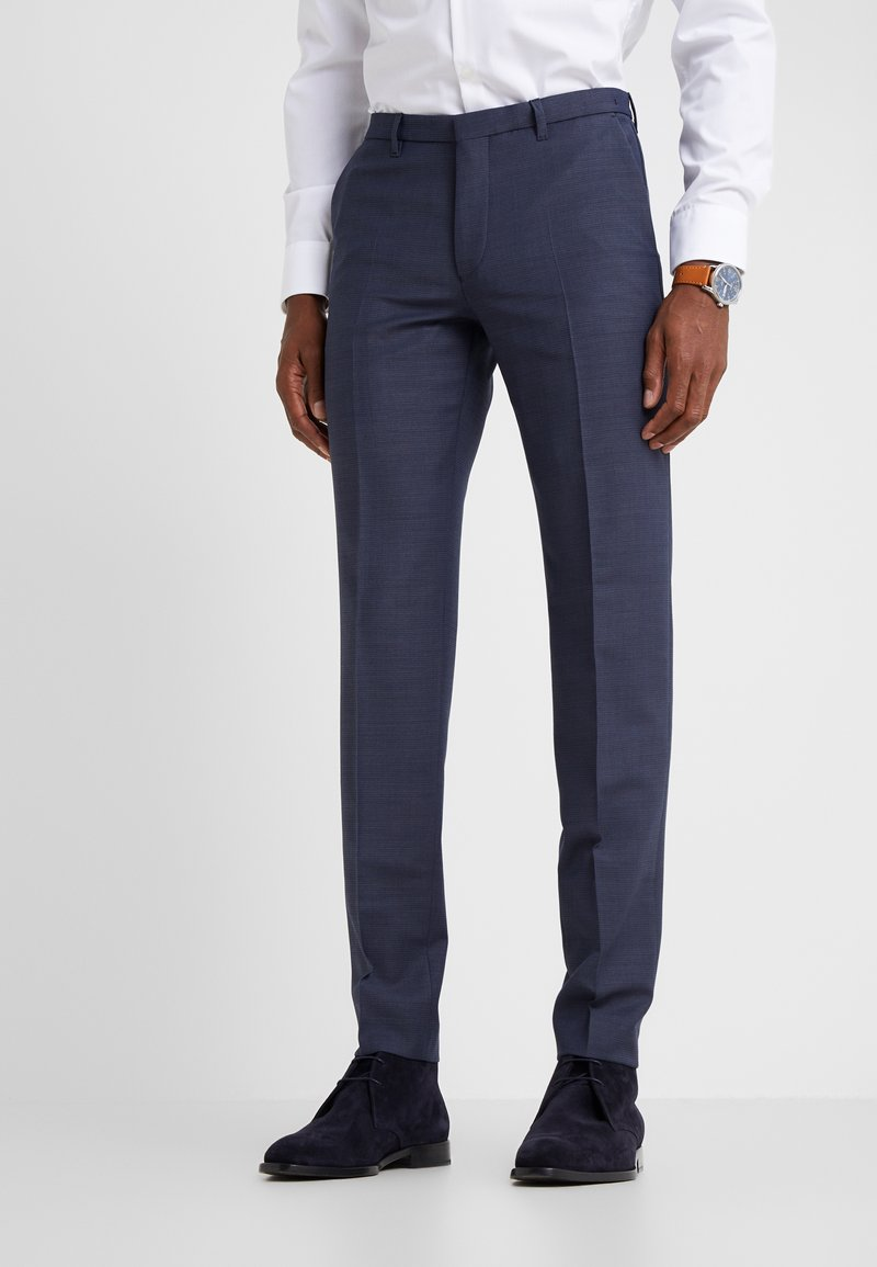 DRYKORN - FOOT - Oblekové kalhoty - dark blue