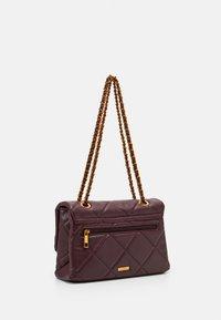 ALDO - ALOJA - Across body bag - bordo/dark gold - 1