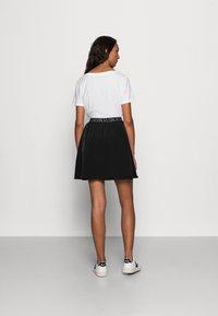 Calvin Klein Jeans - LOGO WAISTBANDSKIRT - Mini skirt -  black - 2