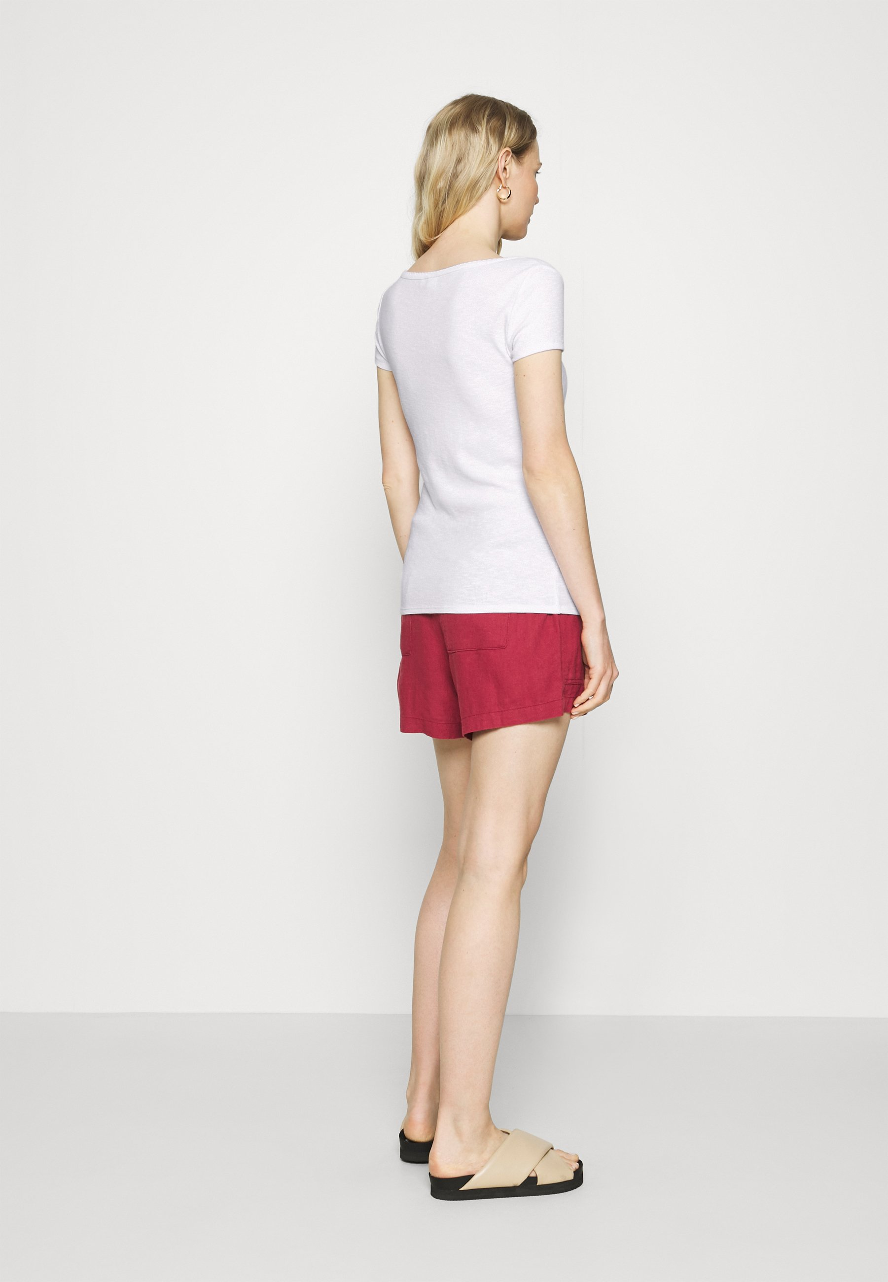 GAP SCOOP CARDI - T-shirts med print - fresh white