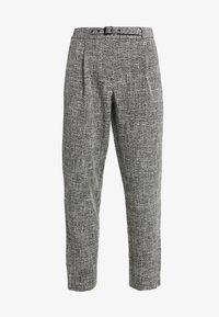 Vila - Bukse - medium grey melange - 4