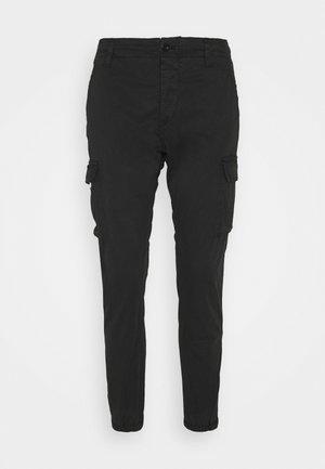 PANTS - Pantaloni cargo - blackboard