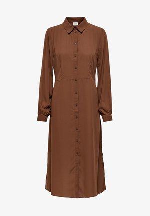 Shirt dress - cinnamon
