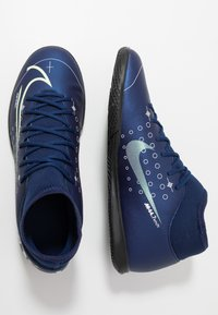 Nike Performance - MERCURIAL 7 CLUB IC - Botas de fútbol sin tacos - blue void/metalic silver/white/black - 1