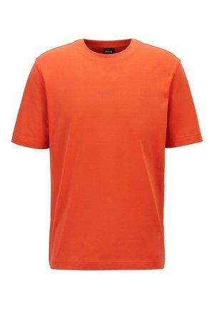 Basic T-shirt - dark orange