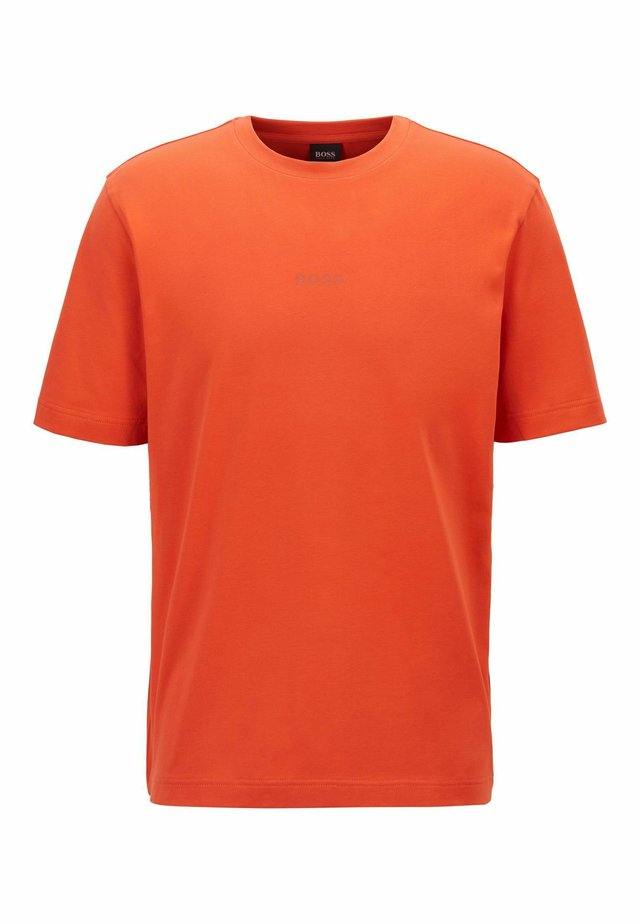 T-Shirt basic - dark orange