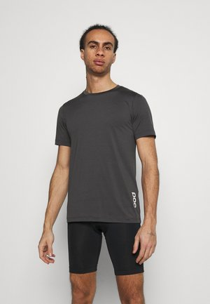 REFORM ENDURO LIGHT TEE - Jednoduché triko - sylvanite grey