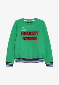 Hackett London - FLOCK LOGO - Sweatshirt - green - 3