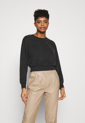 ONLLUCINDA LIFE SHORT STAR BOX - Sweatshirt - black