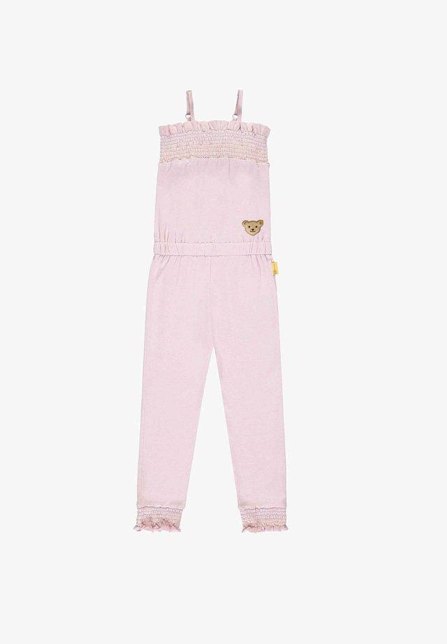 Jumpsuit - pink lady