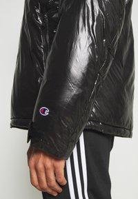 Champion Reverse Weave - HOODED JACKET - Veste d'hiver - black - 6