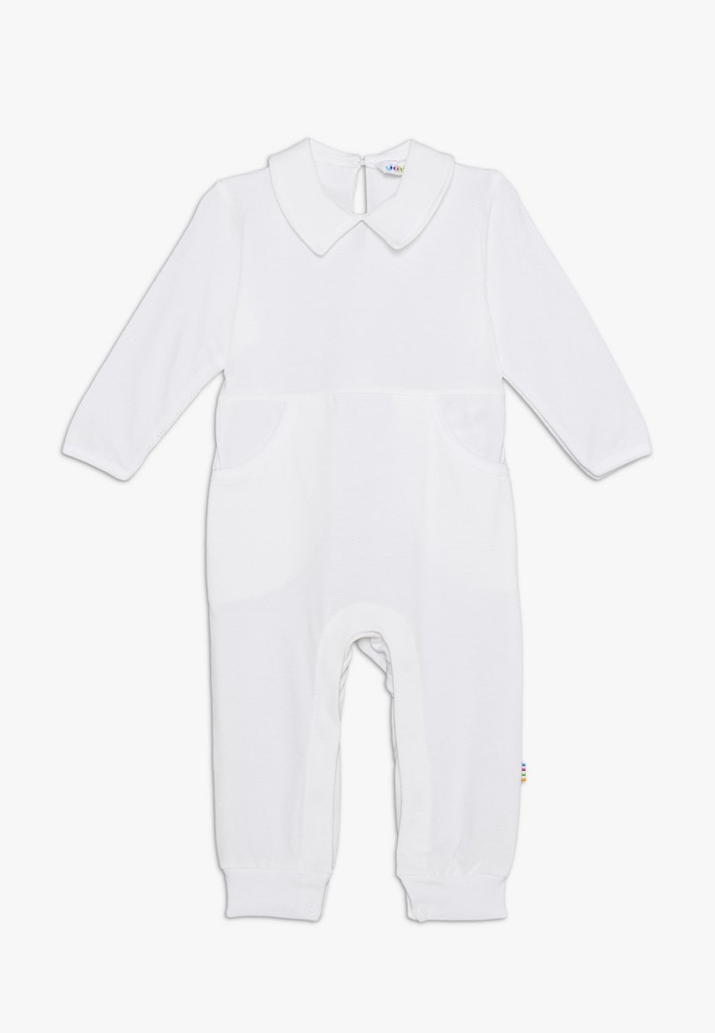 Joha - OVERALL WITH COLLAR - Jumpsuit - white