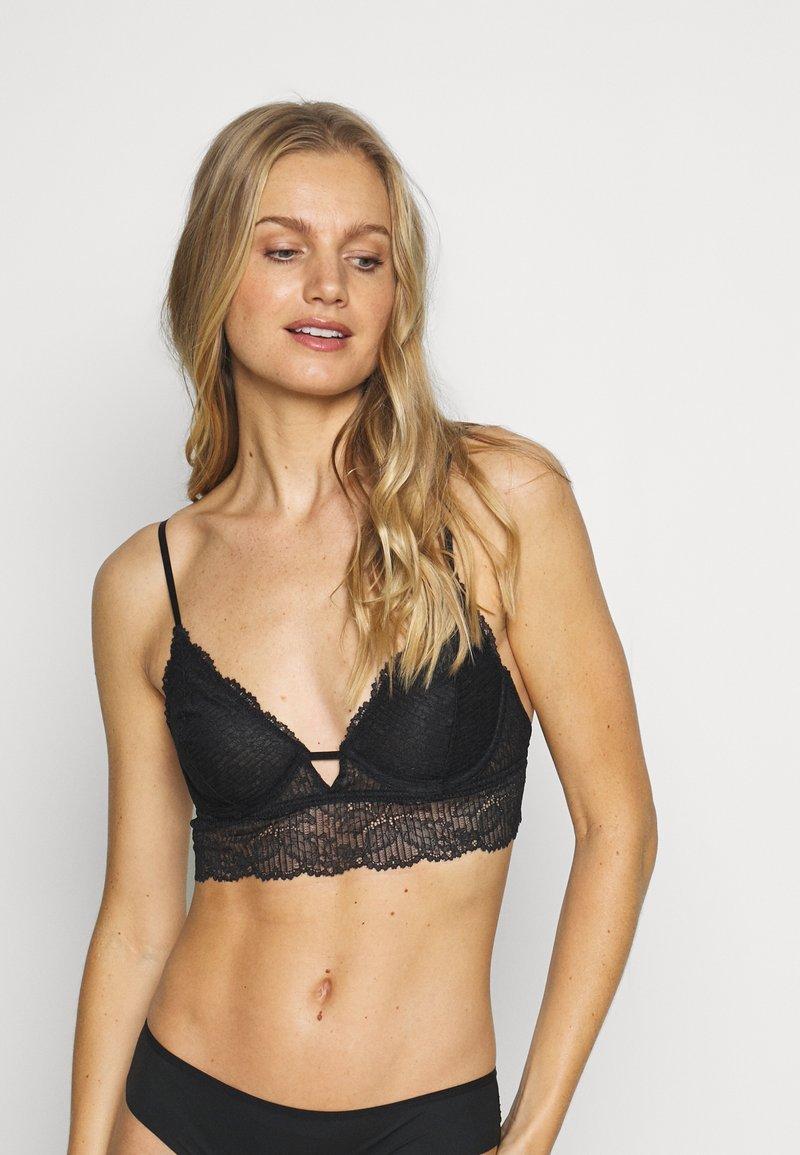 Free People - ALYSSA UNDERWIRE BRA - Triangle bra - black
