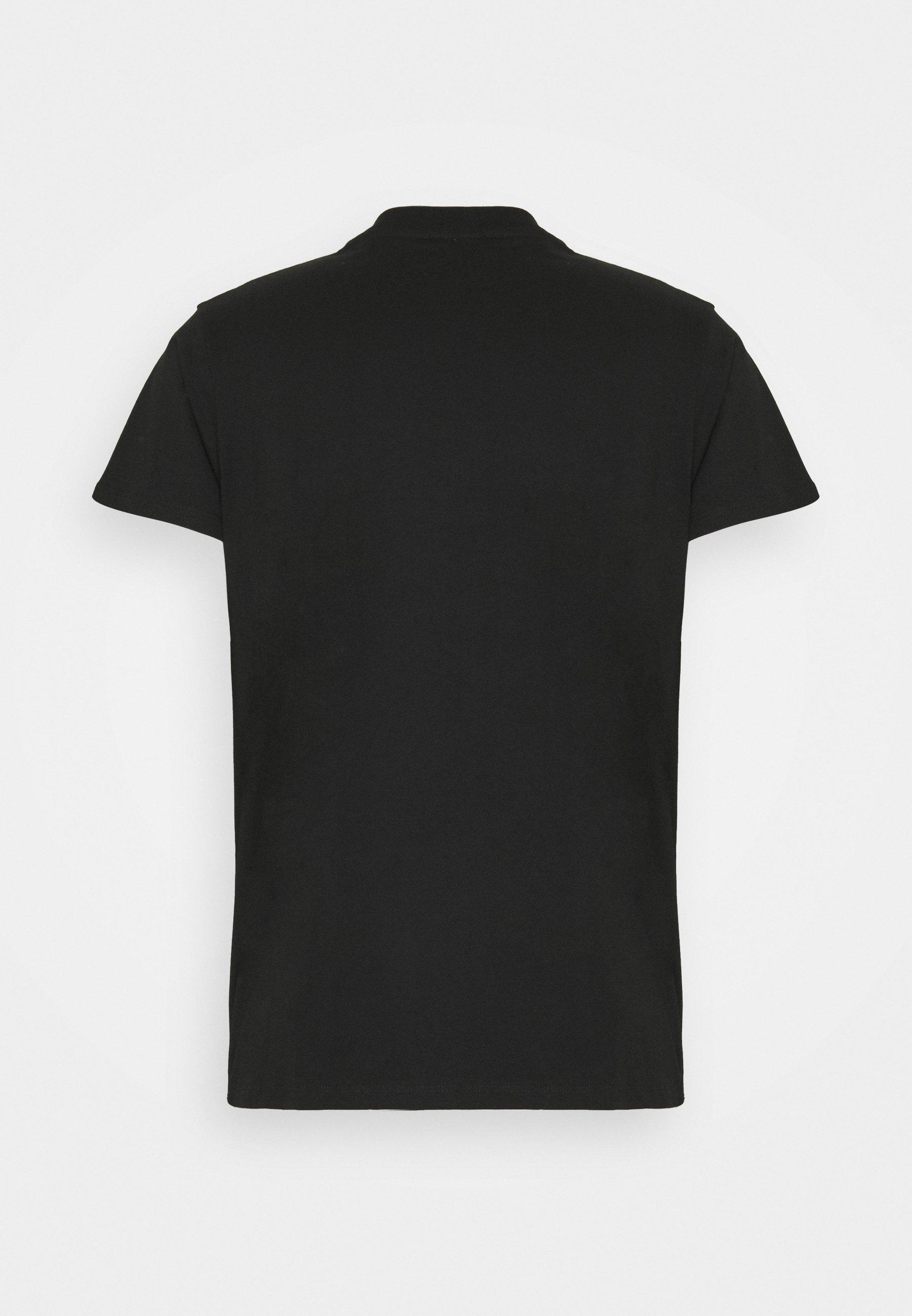 Men RACING PATCH LOGO TEE - Print T-shirt