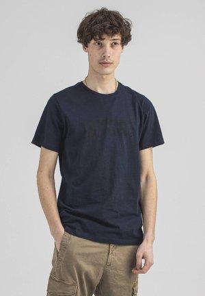 Print T-shirt - alaska blue