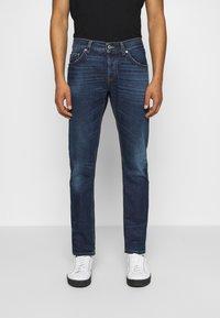 Dondup - PANTALONE - Slim fit jeans - dark-blue denim - 0