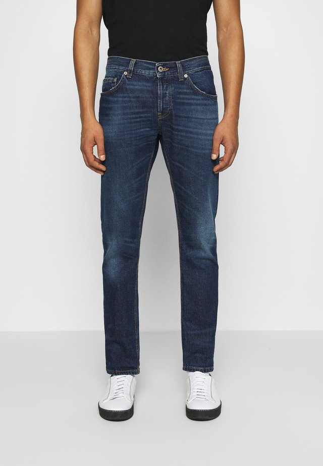 PANTALONE - Slim fit jeans - dark-blue denim