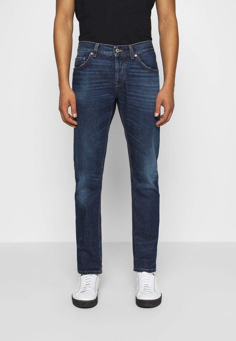 Dondup - PANTALONE - Slim fit jeans - dark-blue denim