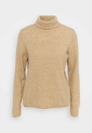 SLFSTACEY ROLLNECK - Jumper - tigers eye melange