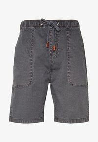INDICODE JEANS - THISTED - Shorts - dark grey - 3