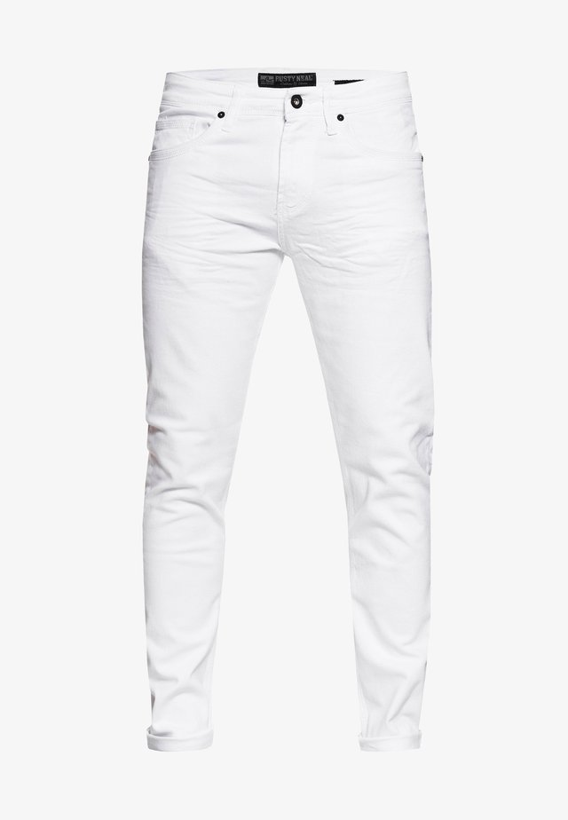 MELVIN - Slim fit jeans - white