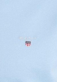 GANT - ORIGINAL SLIM RUGGER - Pikeepaita - capri blue - 5