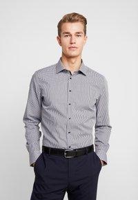 Seidensticker - SLIM FIT - Zakelijk overhemd - dark blue - 0