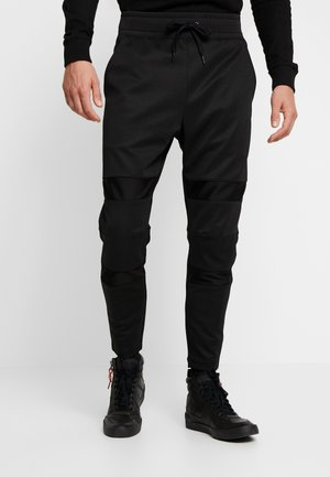 MOTAC SLIM TAPERED - Tracksuit bottoms -  black