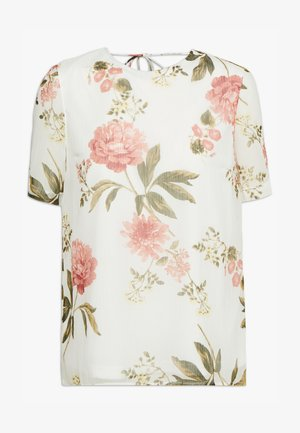VMLUCCA TOP TALL - Blouse - beige