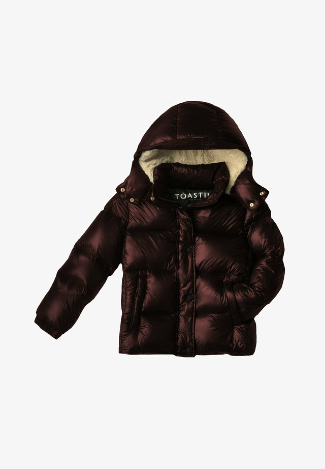 LUNAR PUFFERJACKET - Gewatteerde jas - berry