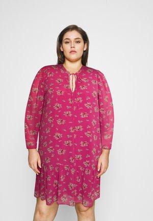 Denní šaty - pink floral