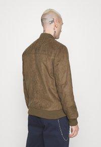 Redefined Rebel - RAFAEL JACKET - Imitatieleren jas - dark brown - 2