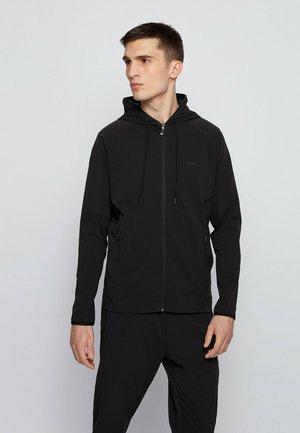 SOONIC - Zip-up sweatshirt - black