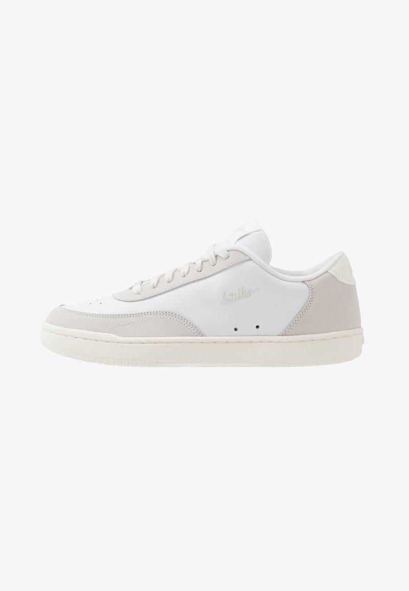 Nike Sportswear - COURT VINTAGE PREM - Baskets basses - white/platinum tint/sail