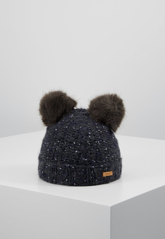 SMOKEY BEANIE - Czapka - dark heather