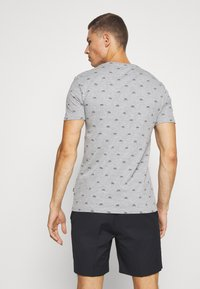 Pier One - Print T-shirt - mottled grey - 2