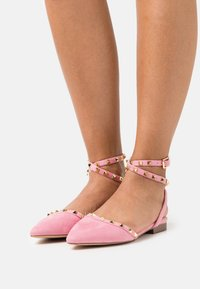 RAID Wide Fit - WIDE FIT LAURENA - Slingback ballet pumps - pink - 0