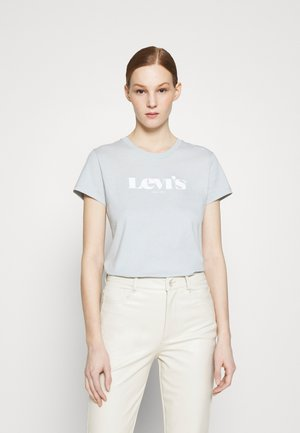 THE PERFECT TEE - T-shirts med print - pearl blue