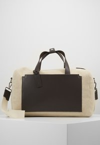 Zign - UNISEX LEATHER - Tote bag - natural - 0