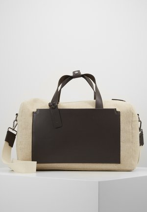 UNISEX LEATHER - Shoppingveske - natural