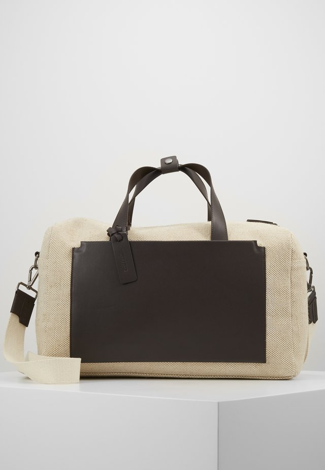 UNISEX LEATHER - Shopping bag - natural