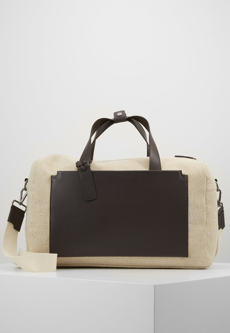Zign - UNISEX LEATHER - Tote bag - natural