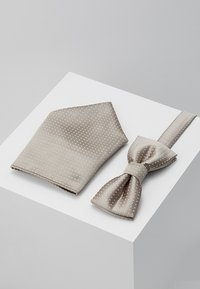 Only & Sons - ONSTBOX THEO TIE SET - Pocket square - fallen rock - 0