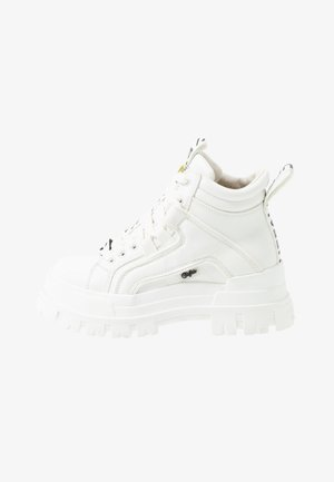 ASPHA MID - Bottines à lacets - white