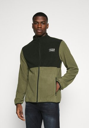 JJHYPE - Fleece jacket - dusty olive