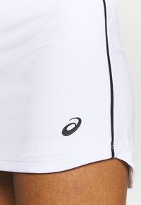 ASICS - COURT SKORT - Sports skirt - brilliant white - 5